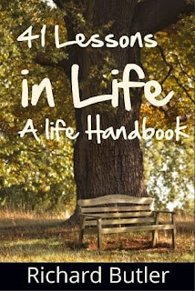 41 lessons, a life handbook, richard butler, self development book, life handbook