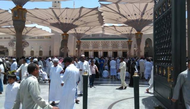 Astragfirullah, Banyak Jamaah Haji Indonesia Tersesat Dan Linglung di Masjid Nabawi