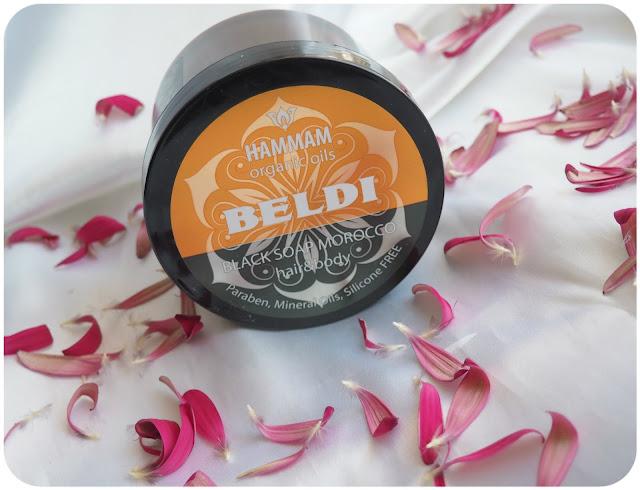 Natura Vita Organic Oils Beldi Black Soap Marocco hear&body