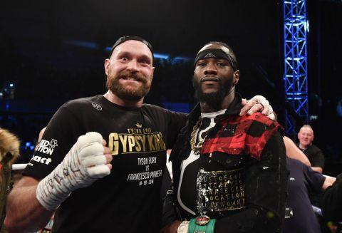 Deontay Wilder Vs Tyson Fury Promotional Tour