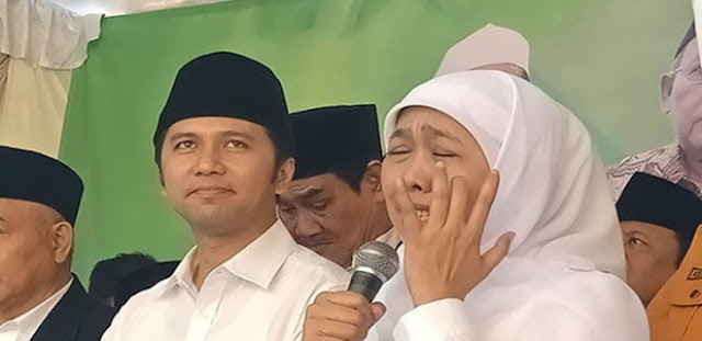 Deklarasi Relawan Jokowi Diterjang Badai, Warganet Bilang Mirip Azab Indosiar