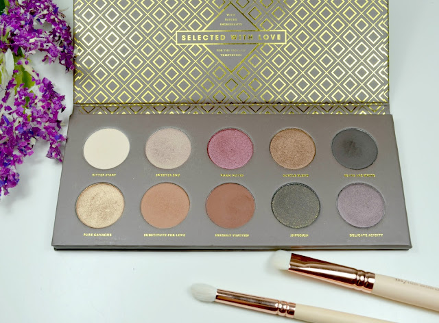 Cocoa Blend - Eyeshadow palette - Zoeva - matte - metallic - pearl - satin - review - swatches