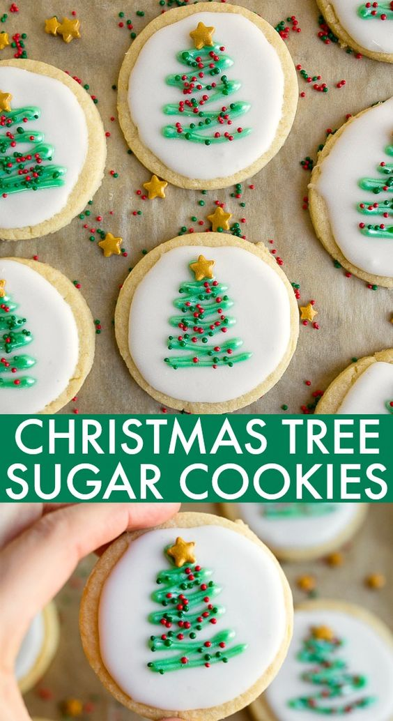 AWESOME Christmas Sugar Cookie Cut-Outs RECIPE