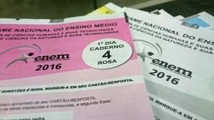 Aplicação da prova do Enem terá quatro horários diferentes no Brasil