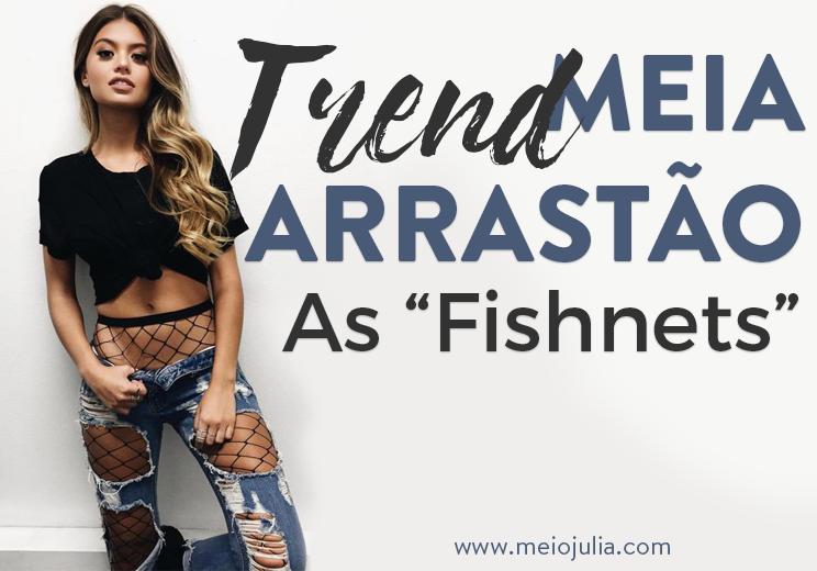 Meias Arrastao Fishnets