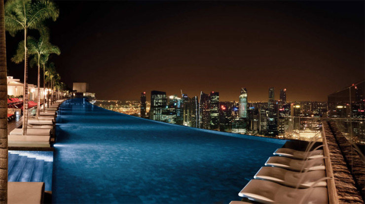 29 Most Amazing Infinity Pools in Pictures - Marina Bay Sands, Singapore