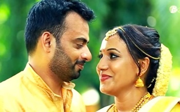 Candid & Romantic moments of Jithin & Parvathy's Fairy tale Wedding |Bespoke Wedding Films