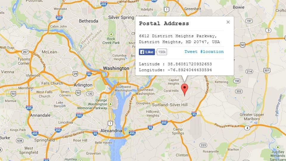 Tech articles: Find Any Address Using Google Maps on google web address, google aerial view of property, google home address, instagram address, gmail address,