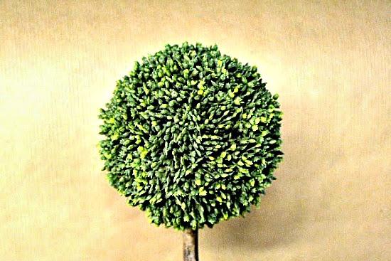 DIY Spring Topiary Trees