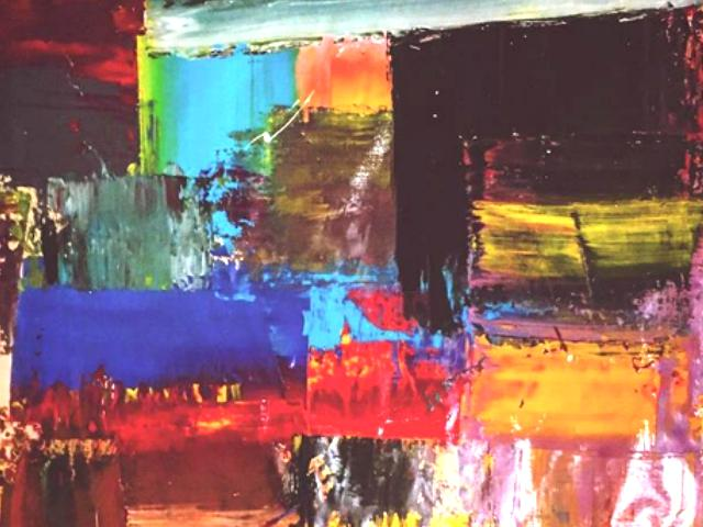 Pengertian Karya Seni Lukisan Abstrak Berserta Contoh Gambar
