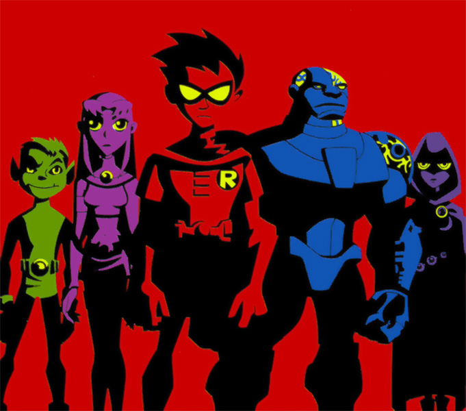 Theme Teen Titans Japan 116