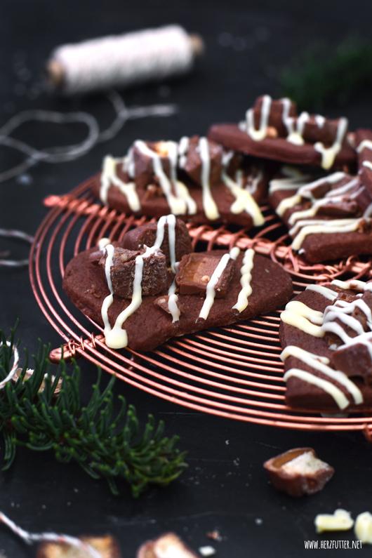 Weihnachtsplätzchen mit Süßigkeiten: Crunchy Candy Cookies