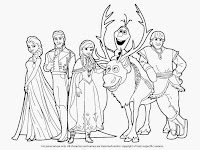Coloring Pictures Of Frozen Characters
