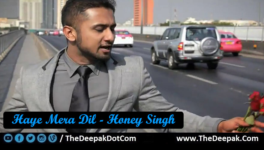 Haye Mera Dil Guitar Chords Strumming Alfaaz Honey Singh