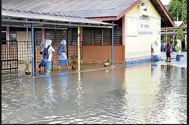 Banjir: 30 Buah Sekolah Di Kelantan Ditutup Esok