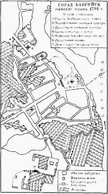 План Бобруйска 1794 г.