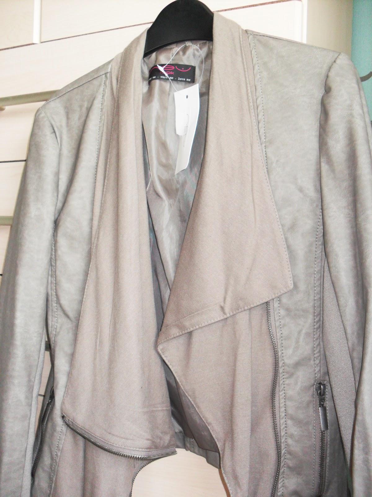 Sister Stylista New Looks Waterfall Leather Look Jacket