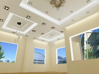 Đèn led được sử dụng rất nhiều khi thiết kế văn phòng hiện đại