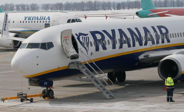 Ryanair licenzia 250 persone in Spagna, Irlanda, Polonia e Inghilterra.