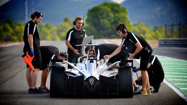 Nissan hace su debut oficial en el campeonato 100% eléctrico de #FórmulaE