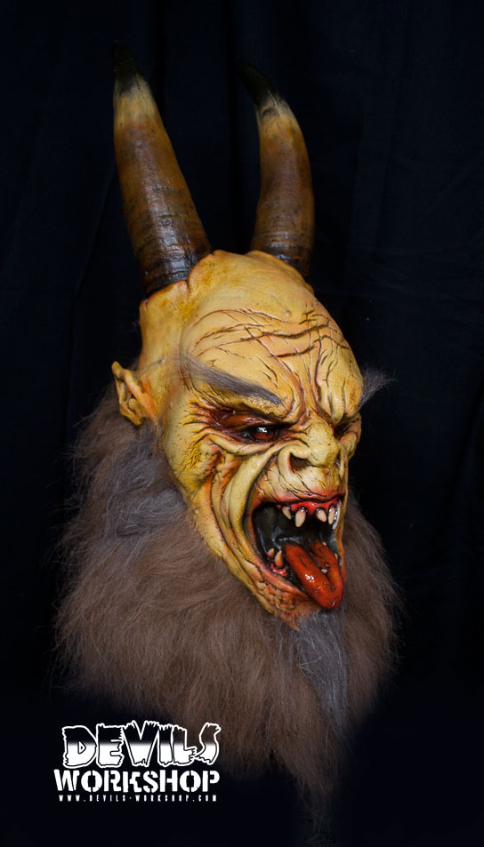 Devil S Workshop Krampus Mask Blood Curdling Blog Of