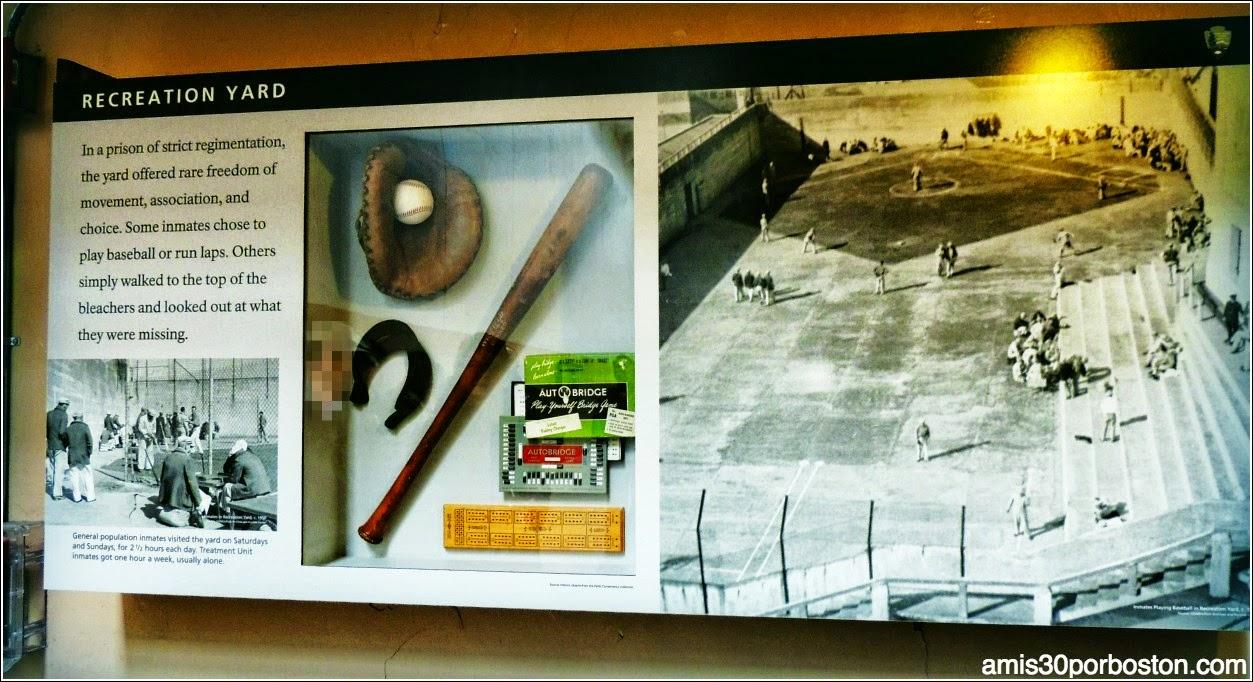 La Prisión de Alcatraz: Patio de Juegos