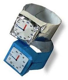 jam tgn 1 cara membuat dari kertas
