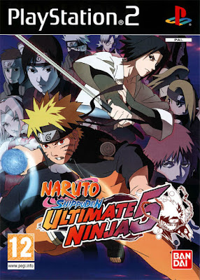 Naruto Shippuden: Ultimate Ninja 5 PS2 GAME ISO