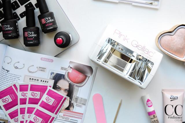 Pink Gellac inhoud Gel Polish starter kit