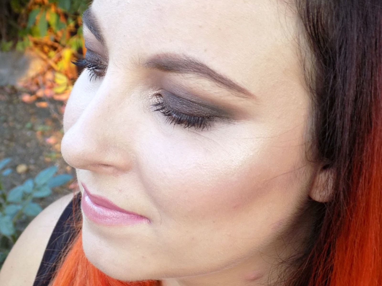 Too Faced Chocolate Bar palette makeup look