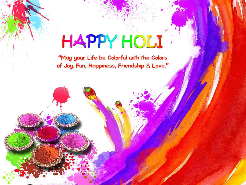 Happy Holi Colours HD Images