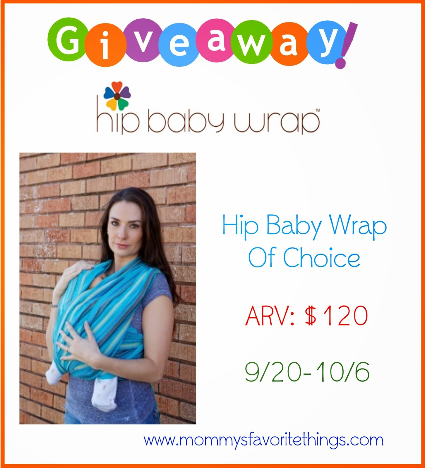 Mommy S Favorite Things Hip Baby Wrap Review Giveaway