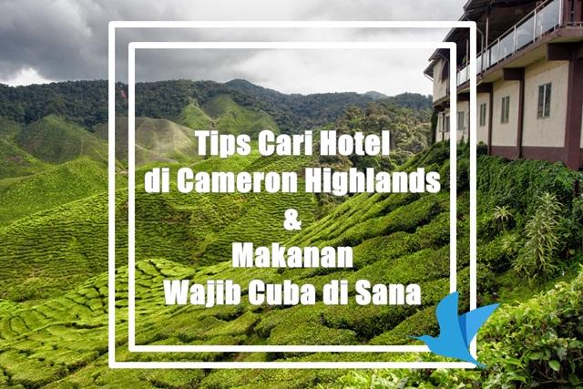 Tips Cari Cameron Highlands Hotel dan Makanan Wajib Cuba di Sana