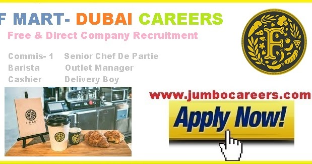 Latest Supermarket Jobs In Dubai At F Mart