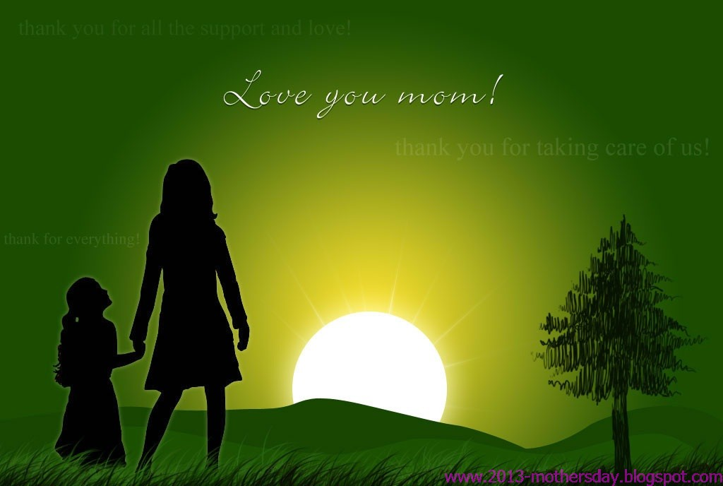 Wallpaper Free Download: Mothers Day Screen Server And HD