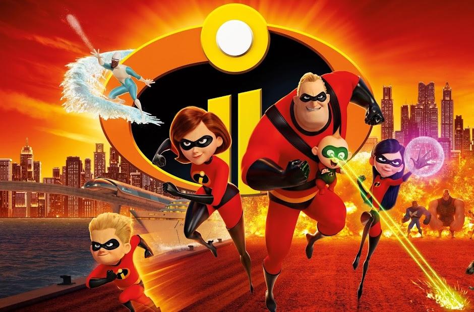 Os Incríveis 2 | Cinemas UCI lideram o ranking de público no fim de semana de estreia