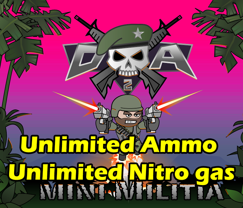 mini militia mod by sahad ikr