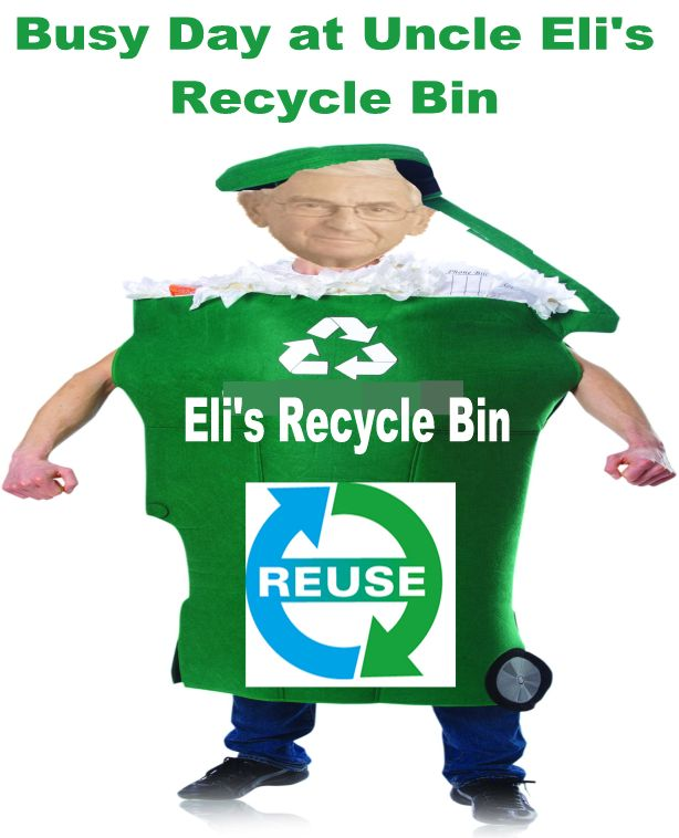 Image result for big education ape eli recycle bin
