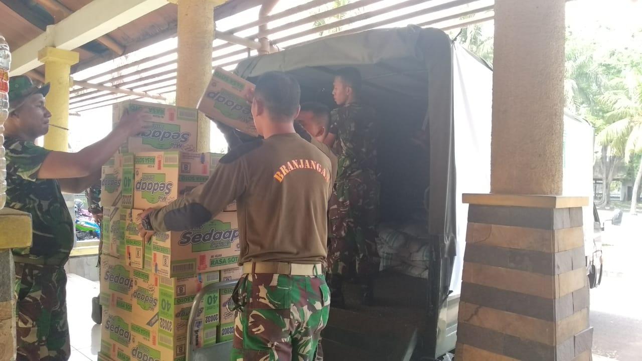 Kodam I Bb Salurkan Bantuan Korban Gempa Lombok Ntb Oke Rumah Untuk Lalu Menyisakan Kesedihan Dan Kedukaan Bagi Masyarakat Khususnya Umumnya Yang Menelan Ratusan Jiwa Puluhan Ribu