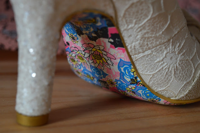 Irregular Choice Smartie Pants Cream