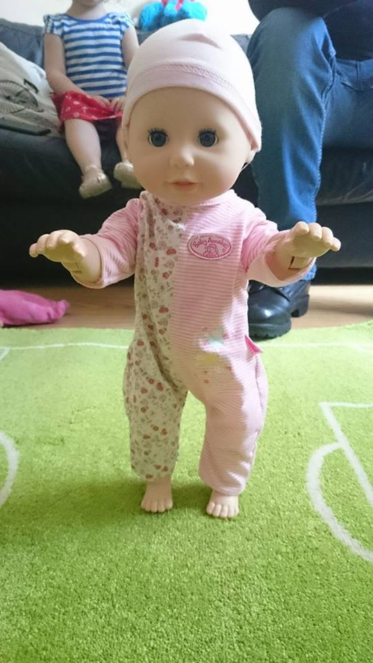 Baby Annabell Learns to Walk - Review   Mum of a Premature ...