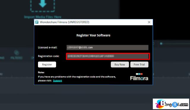 Registartion code