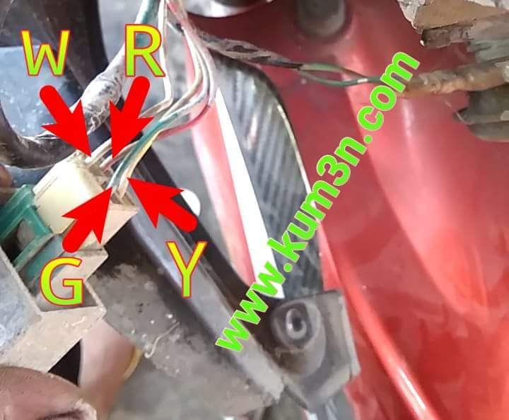 Jalur Kabel Body Vario 110
