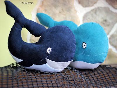 Kinderkissen: kuscheliger Wal