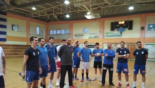 H Εθνική χάντμπολ ξεκίνησε προετοιμασία για euro 2020 στη Νέα Κίο