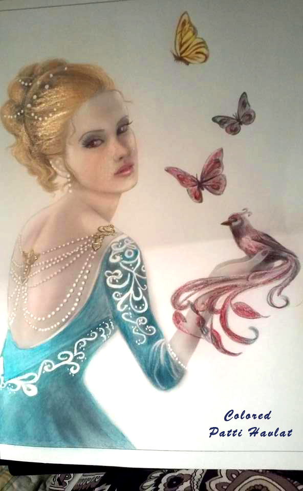 Alena Lazareva Digital artist and illustrator Fantasy