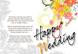 Kartu Ucapan Bahasa Inggris Untuk Acara Pernihakan Wedding Days - berbagaireviews.com