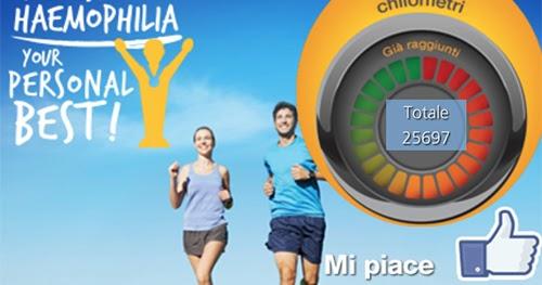 Sfida vinta contro l'emofilia: grande successo della seconda edizione di miles for haemophilia,