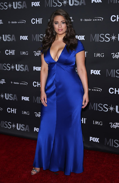 Fashion Model, @ Ashley Graham - 2016 Miss USA pageant in Las Vegas