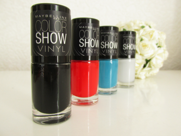 Maybelline New York Color Show Vinyl Nagellack Kollektion Limited Edition